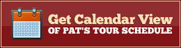 pat godwin tour calendar